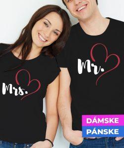 27-024-biele-cierne-tricko-s-potlacou-pre-pary-zalubenych-zamilovanych-laska-frajerka-frajer-frajerku-frajera-dvojica-vztah-spolu-love-heart-srdce